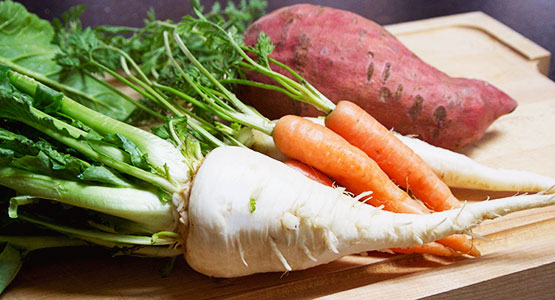 Learning To Love Root Vegetables