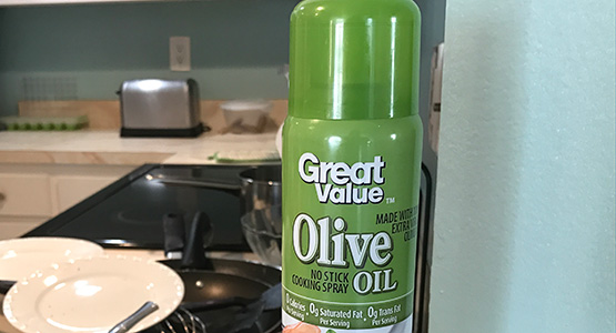 "When ""Healthy"" Isn't Healthy: Ixnay the Olive Oil Spray"